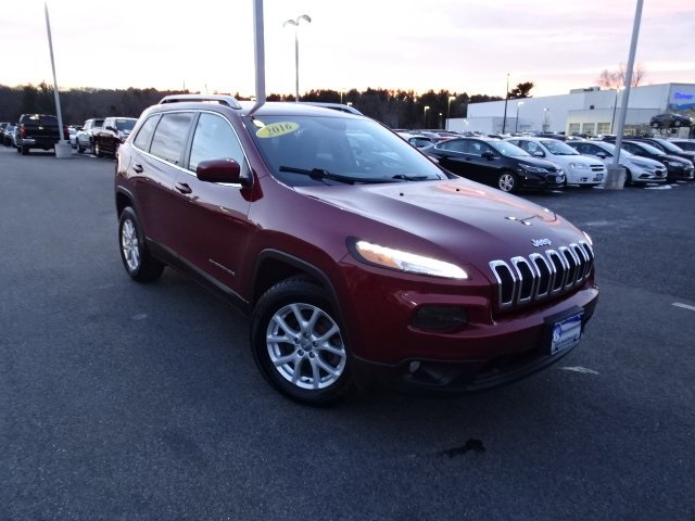 pre-owned 2016 jeep cherokee latitude 4d sport utility in dover